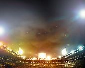 foto of lamp shade  - Image of stadium in lights and flashes - JPG