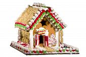 Hand-made Gingerbread House