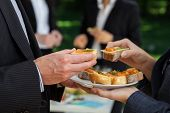 stock photo of buffet catering  - Maneger - JPG