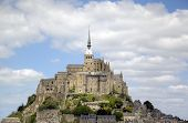 picture of michel  - Abbey of Mont Saint Michel - JPG