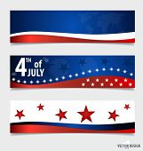 image of democracy  - Happy independence day card United States of America - JPG