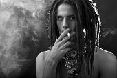 picture of dreadlock  - Young man - JPG