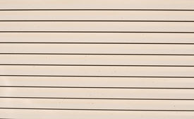 picture of white vinyl fence  - Wall texture of new plastic siding panels - JPG