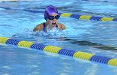 pic of breast-stroke  - GIRL SWIMMING BREAST STROKE - JPG