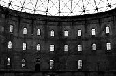 pic of dingy  - Old abandoned factory with big halls in east germany - JPG