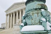 picture of supreme court  - Supreme Court in Winter  - JPG