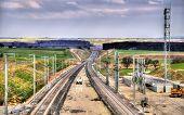 stock photo of high-speed train  - High - JPG