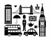 image of crown  - Set of London icons - JPG