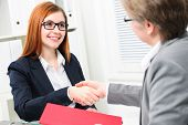 pic of interview  - Job applicant having interview - JPG