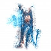 picture of insulting  - Abstract blue - JPG