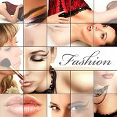 Постер, плакат: Мода коллаж