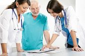 pic of medical staff  - Medical theme - JPG