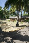 picture of camiguin  - hammocks and beach bungalows on camiguin island mindanao the philippines - JPG