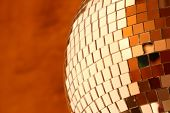 shiny discoball poster