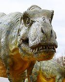 Постер, плакат: Тиранозавр рекс динозавра