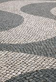 Cobble stone paving - Lisbon