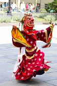 picture of tantric  - Bhutan dancer - JPG