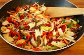 stock photo of stir fry  - Stir - JPG