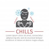 Man Chill Icon. Vector Sign For Web Graphic. poster
