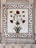 Marble Panel Red Fort Delhi