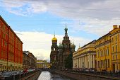 Saint Petersburg, Russia - July 11: Cathedral Of The Resurrection On Spilled Blood (church Of Our Sa