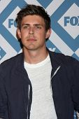 LOS ANGELES - JAN 13:  Chris Lowell at the FOX TCA Winter 2014 Party at Langham Huntington Hotel on