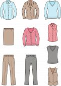 picture of knitwear  - Vector illustration - JPG