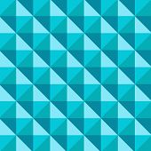 picture of taper  - Abstract 3D Tapered Cube Pattern with shade - JPG
