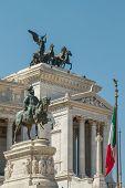 picture of emanuele  - Monumento Nazionale a Vittorio Emanuele II - JPG