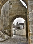 Arcs Of The Medieval Church. France. poster