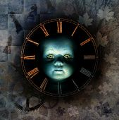 pic of time-piece  - Haunting child - JPG
