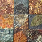 pic of ceramic tile  - Old wall ceramic tiles patterns from thailand public - JPG