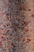 pic of oxidation  - Oxidized metal surface making an abstract texture high resolution - JPG