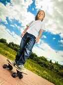 picture of skateboard  - Active childhood - JPG