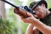 foto of hunters  - hunting - JPG