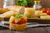 picture of smelly  - Czech smelly cheese  - JPG