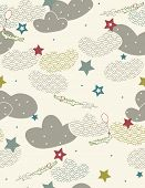 Vector Baby Crocodile (Seamless Pattern)