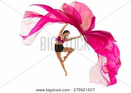 Graceful Ballet Dancer Or Classic
