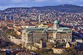 Buda Castle Budapest, Budapest The Capital Of Hungary poster
