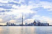 foto of urbanisation  - Toronto city waterfront skyline in late afternoon - JPG