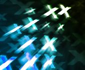 foto of x-rated  - Dark Blue XXX Abstract Background Image Texture - JPG