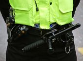 picture of truncheon  - Close - JPG