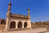 masjid at Golkonda Fort Hyderabad India