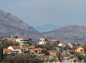 stock photo of former yugoslavia  - Skyline of Montenegro - JPG