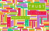 foto of character traits  - Concept of Trust and Belief in a Person - JPG