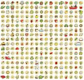 foto of xxl  - XXL Collection of 289 doodled icons for every occasion No - JPG
