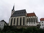 Saint Vitus Church in Cesky Krumlov