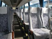 pic of motor coach  - passenger compartment of a big shuttle bus - JPG