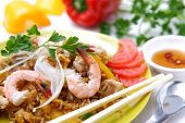 picture of nasi  - studio shot of Indonesian fried rice called nasi goreng - JPG