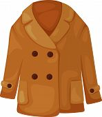 picture of jupe  - Illustration of coat vector cartoon design for man and women - JPG